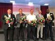 Die Vorsitzenden der Bundesfachereiche (v.l.n.r.): André Volmer, Ingo Bings, Valentino Tagliafierro, Heiko Nickel, Nsimba Gore