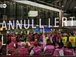 Warnstreik komba Flughafen Frankfurt (