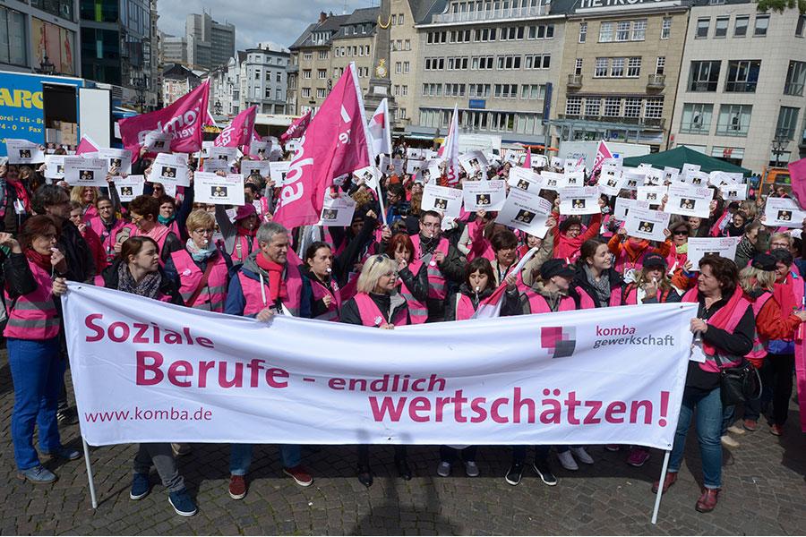 Kita Streik Bonn