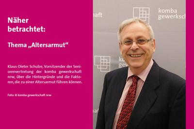 Klaus-Dieter Schulze (Foto: © komba gewerkschaft nrw)