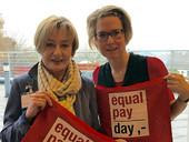 Elke Stirken (links) und Mareike Klostermann (Foto: komba gewerkschaft)