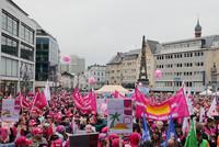 Mehr als 7.000 Beschäftigte beim Warnstreik in Bonn. (Foto: © Eduard N. Fiegel/photofiegel.de)