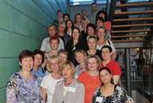 Die Vertreterinnen der komba beim dbb bundesfrauenkkongress