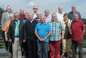 Die Teilnehmer des Seniorenseminars 2015 mit komba Bundesseniorenbeauftragten Klaus-Dieter Schulze (vorne links) (Bild: © komba gewerkschaft)