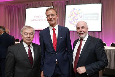 v.l.n.r.: Klaus Dauderstädt, Dr. Gerd Landsberg, Ulrich Silberbach (Foto: © Eduard N. Fiegel / photofiegel.de)