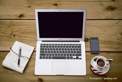 Digitalisiertes und flexibles Arbeiten ist eine der Forderungen der komba jugend nrw. © unsplash/pixabay.com