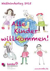 Plakat zum Weltkindertag 2015 (Design: © komba gewerkschaft)