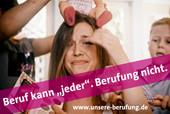 """Beruf kann """"jeder"""". Berufung nicht: Startschuss für Kampagne der komba gewerkschaft gefallen. © Rheinische Fachhochschule Köln"""