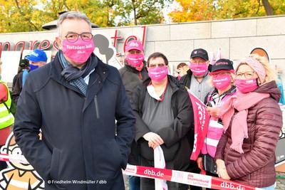Andreas Hemsing (links), Bundesvorsitzender der komba gewerkschaft (Foto: © Friedhelm Windmüller / dbb)